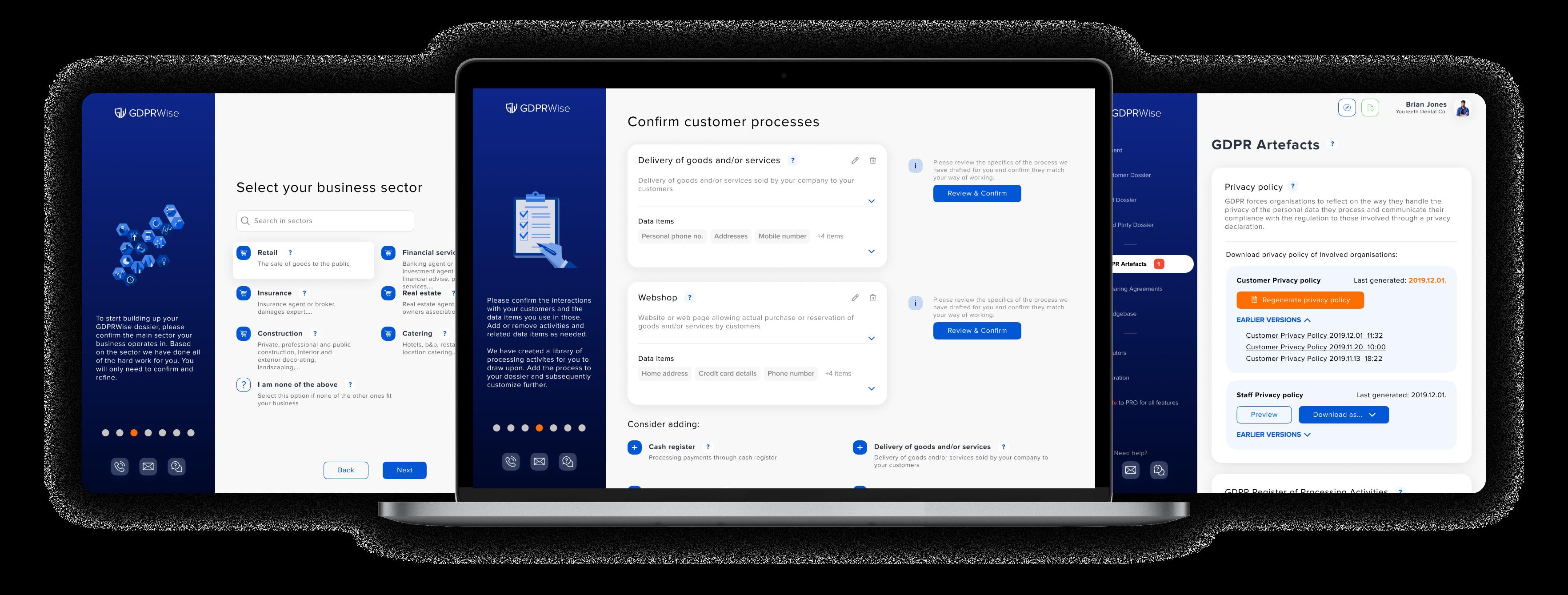 GDPR compliance tool - GDPR Wise App