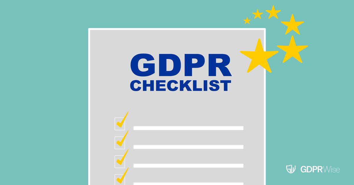 GDPRWise GDPR Checklist