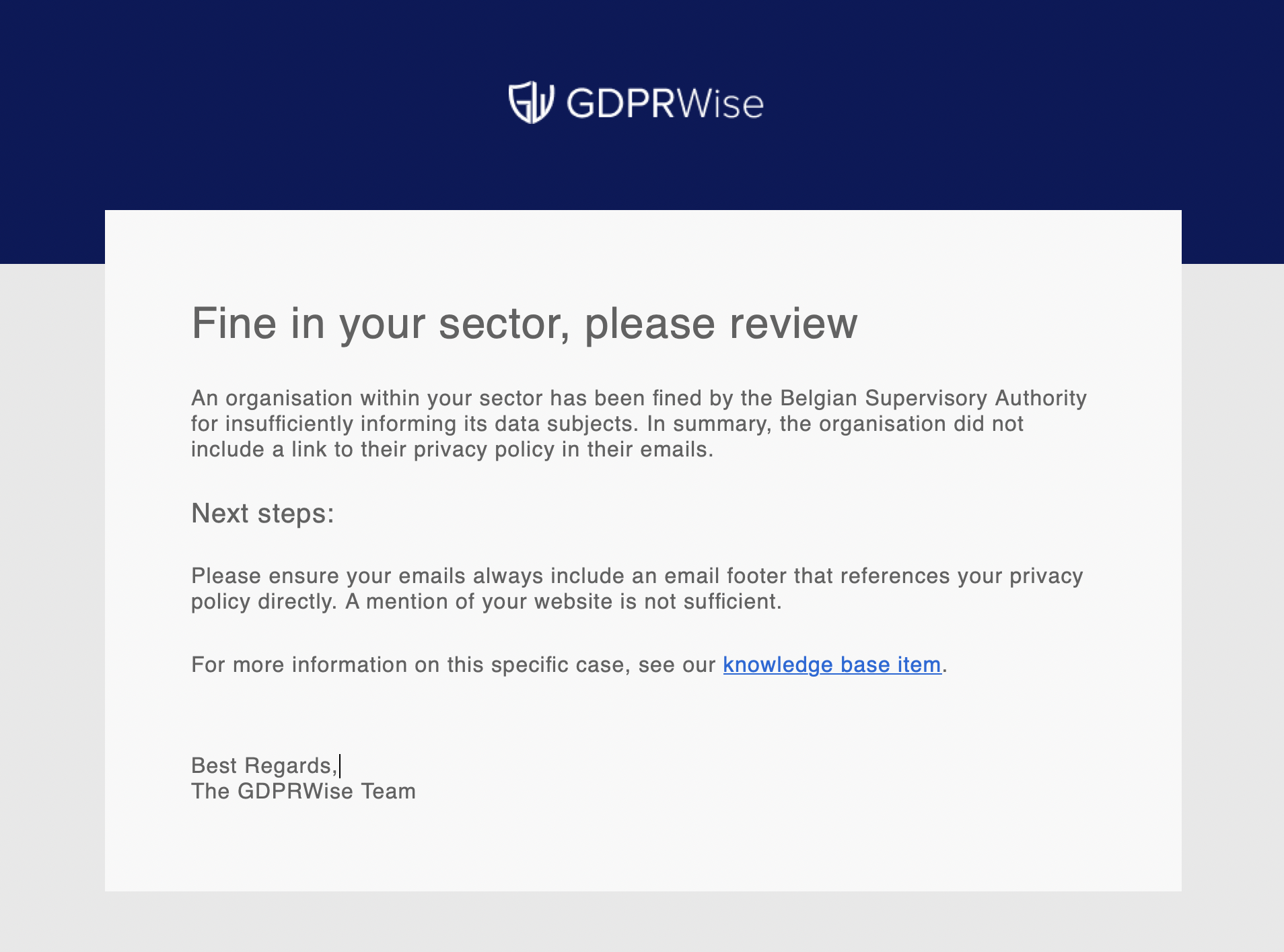 GDPR Compliance Tools for SME - GDPRWise App
